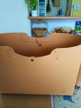リサイクルペーパーバッグ修理