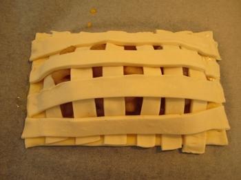 アップルパイの作り方③成型