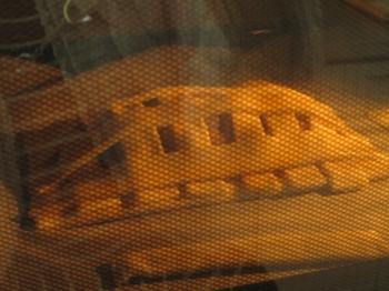 アップルパイの作り方④焼き