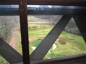 御所野縄文博物館・きききのつり橋