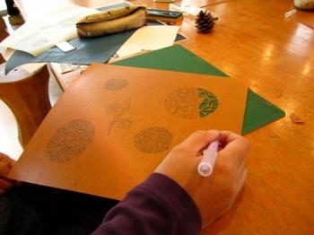 型染の藍染・型紙作り
