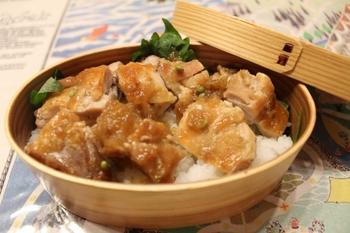 ノギ屋の弁当・鶏飯