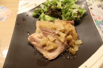 猪肉の葉包み焼き