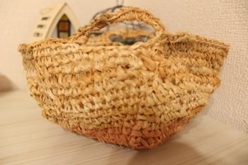 シナノキの繊維のマルシェバッグ