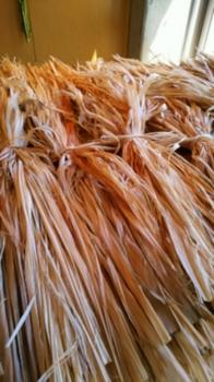 シナノキの繊維