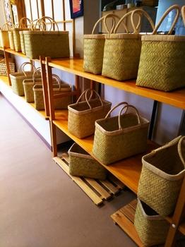 鈴竹の竹かご
