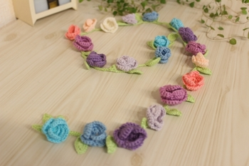 お花のラリエット・春の予感