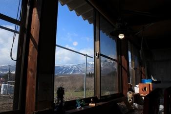 山麓のカフェ