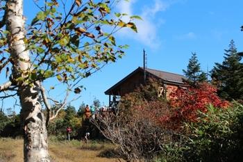 紅葉の三石山荘 2016