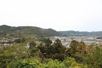 三戸城からの眺め