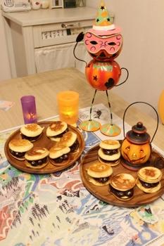 おばけパンケーキ&ハロウィン飾り